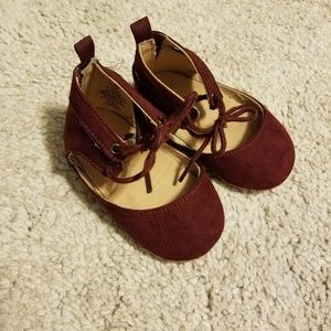 2 for $12 - baby ballet flats w/ ankle tie